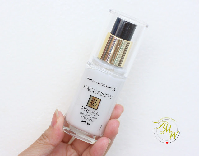 a photo of Max Factor Facefinity All Day Primer SPF20 Review