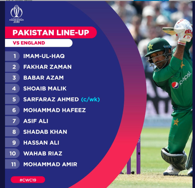 Pakistan vs England, Live Streaming Online, Match 6 World Cup 2019