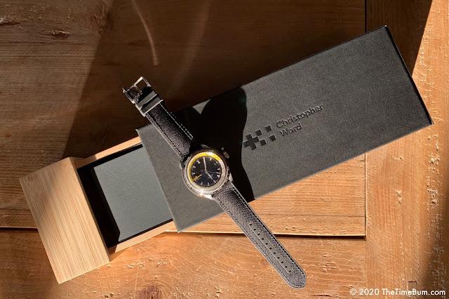 Christopher Ward C65 GMT Worldtimer box