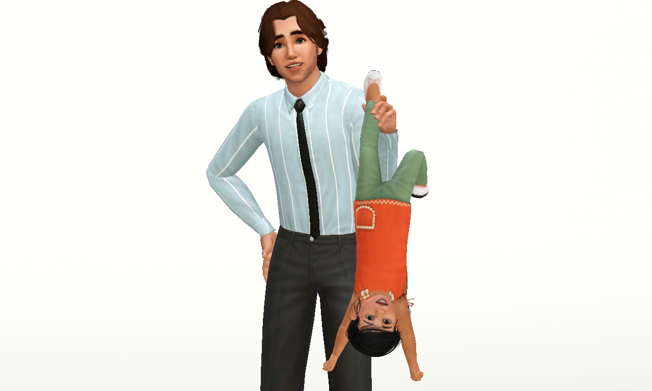 Empire Sims 3 Family Fun with a Tot Pose Pack by Amber