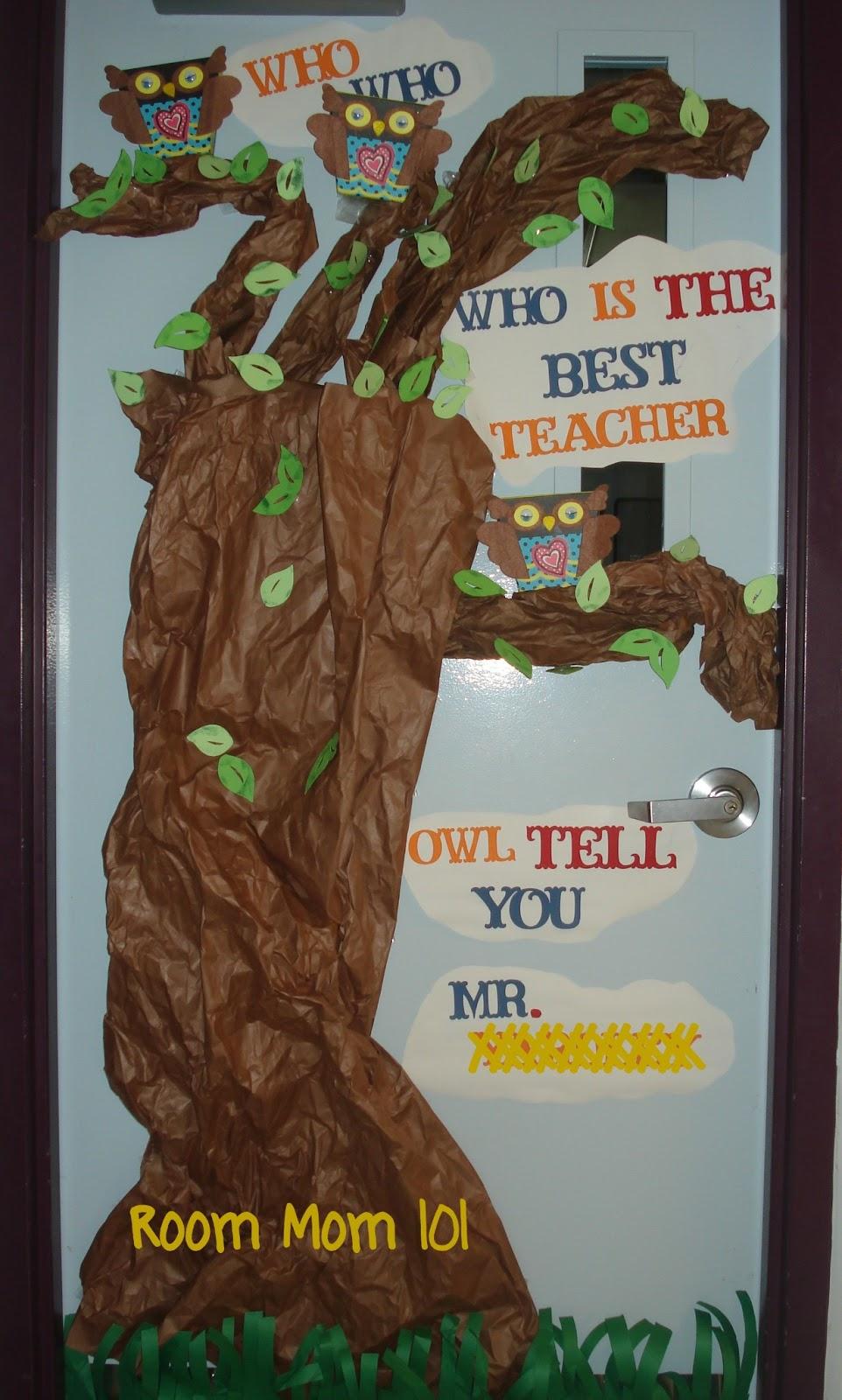 Room Mom 101 Owl Tell You Who S The Best Teacher