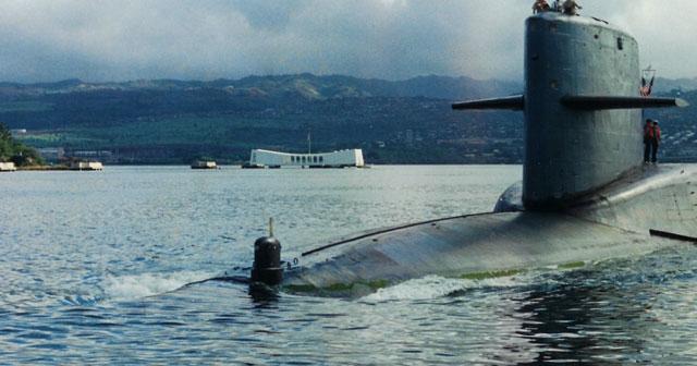Tabrakan Antar Kapal Selam Nuklir (2009)