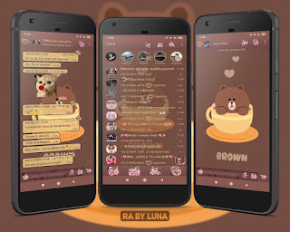 Brown Teedy Theme For YOWhatsApp & RA WhatsApp By Luna