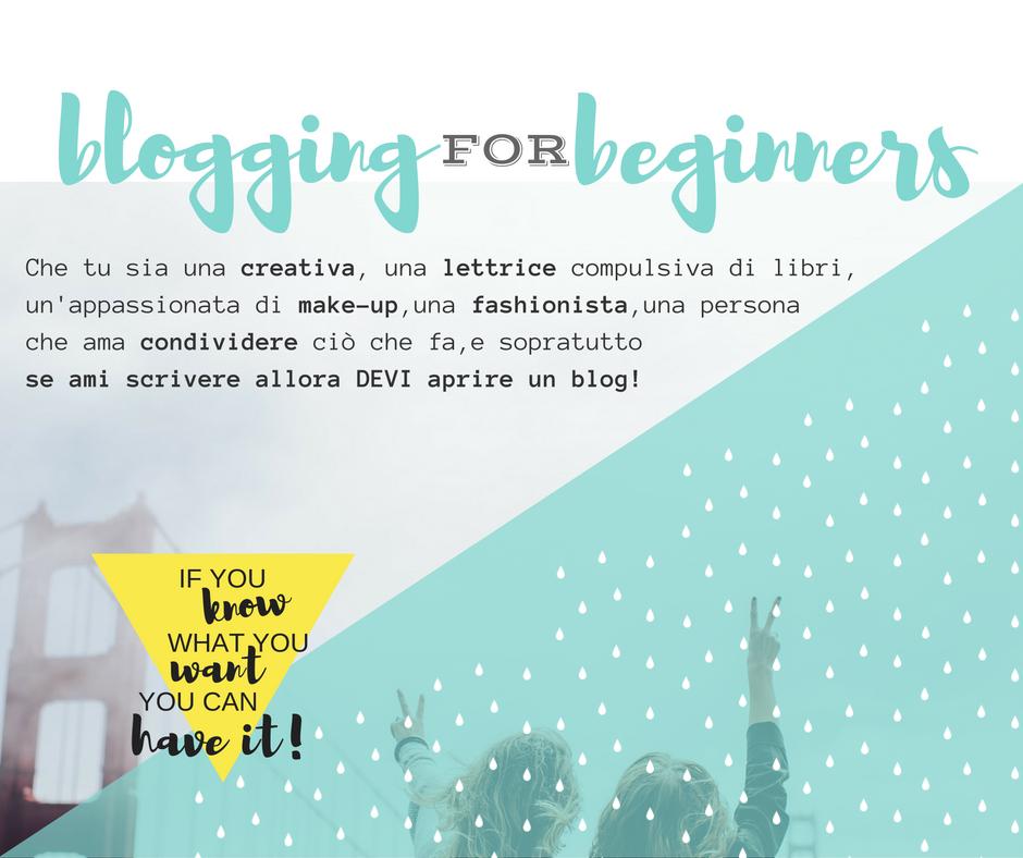 Perchè aprire un blog? (parte 1)