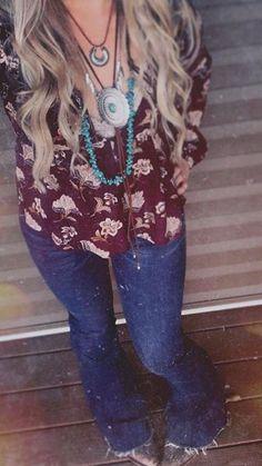 cowgirl attire style