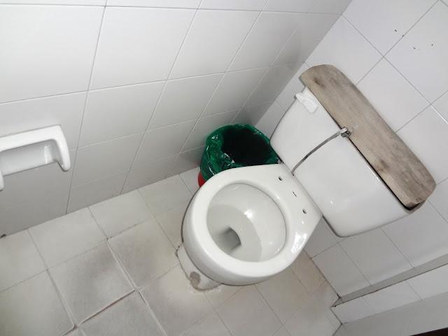 コロンビアのトイレについて