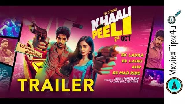 Khaali Peeli release date trailer cast trailer wiki