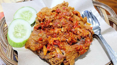Ayam Geprek Crispy Super Pedas & Enak