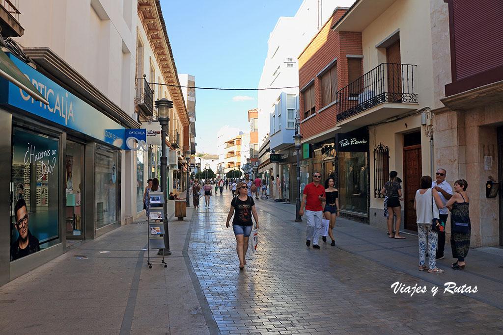 Calle de Santa Quiteria de Alcázar de San Juan