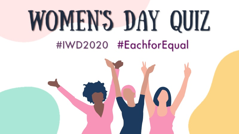 Women's Day MCQ, IWD MCQ Quiz