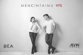 Lirik Lagu Dea & Alvin Chong - Mencintaimu 99%