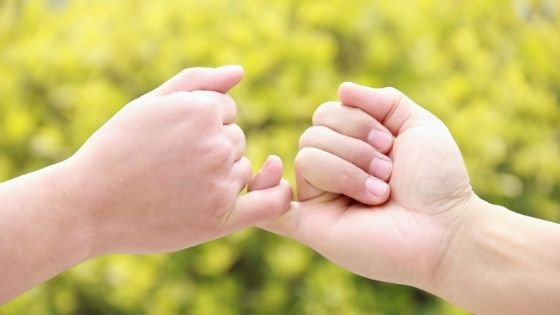 What does term Pinky Promise means
