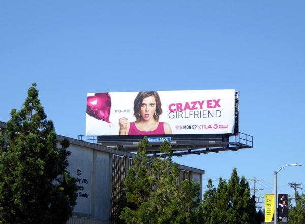 Crazy Ex-Girlfriend season 1 billboard
