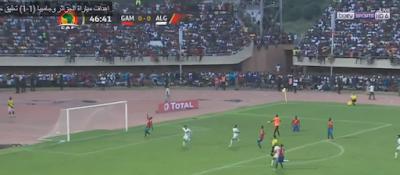 اهداف مباراة الجزائر وجامبيا  1-1  تعليق حفيظ دراجى  تصفيات كأس أمم أفريقيا 2019