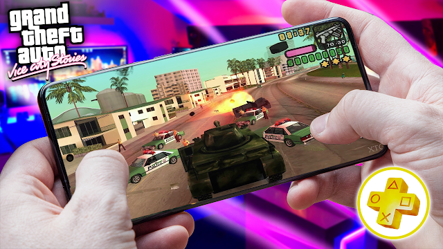 Grand Theft Auto: Vice City Stories Para Android (Configuraciones) [ROM PSP]