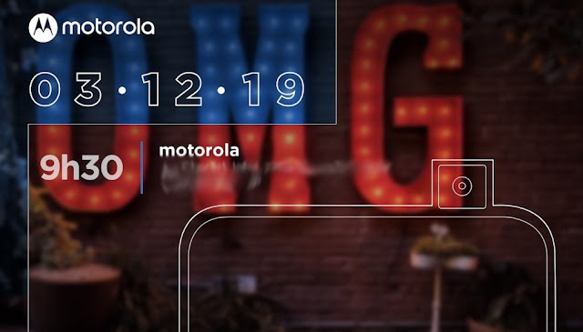 Motorola One Hyper with 32MP pop-up selfie expected launch on December 3