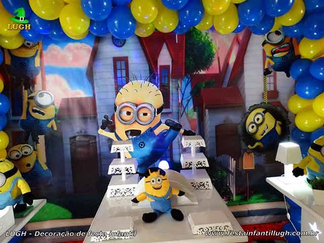 Decoração de festa infantil Minions