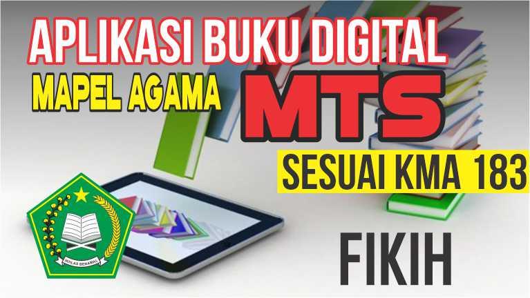 APLIKASI BUKU DIGITAL MTs MAPEL FIKIH, SESUAI KMA 183