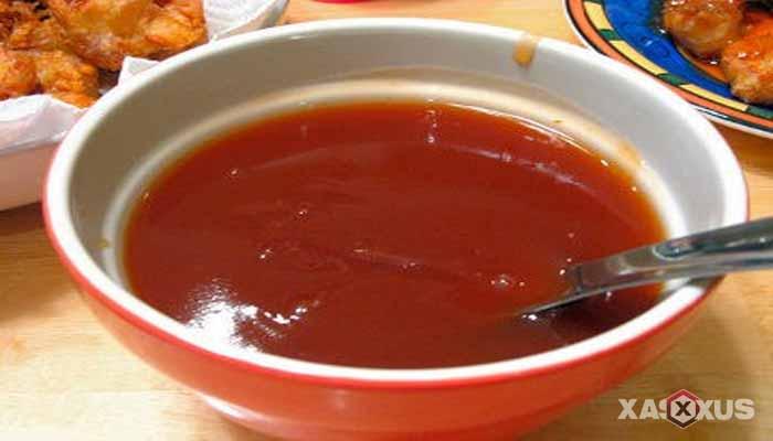 Resep cara membuat saus asam manis