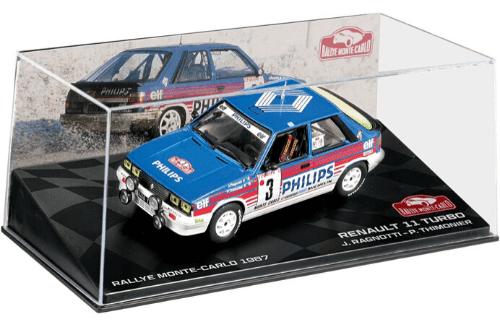 collezione rally monte carlo Renault 11 Turbo 1987 Jean Ragnotti - Pierre Thimonier