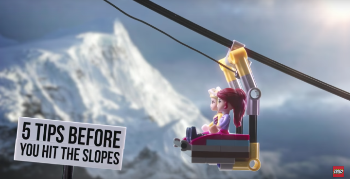 5 Ski Trip Tips with LEGO Friends
