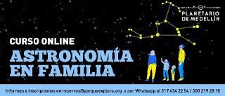 Astronomia en Familia por Planetario de Medellin