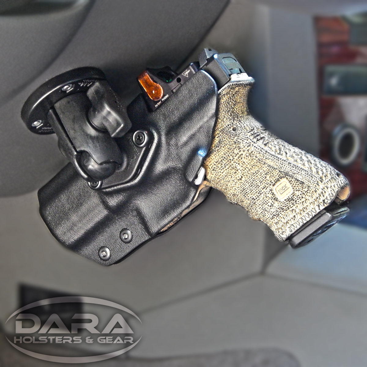 Dara Holsters Mounted Holsters For Vehicles