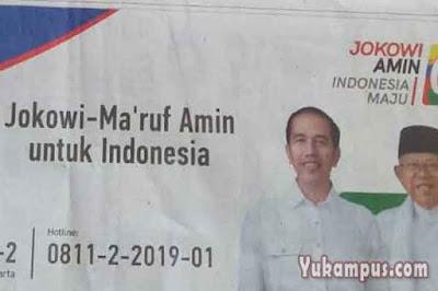 contoh baliho iklan kampanye politik