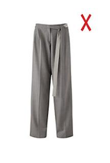 Широкие брюки для женщин с фигурой груша