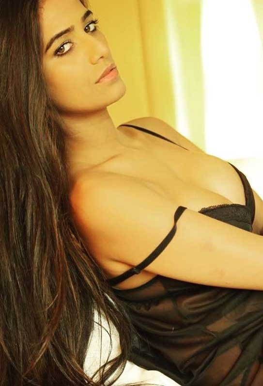 Poonam Pandey hot in lingerie