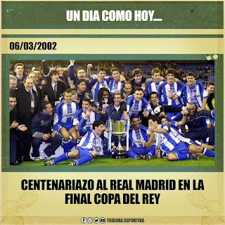 CENTENARIAZO AL REAL MADRID EN LA FINAL DE LA COPA DEL REY
