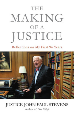 book cover - photo of Justice Stevens