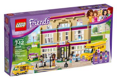 TOYS : JUGUETES - LEGO Friends  41134 Escuela de Talento de Heartlake  Heartlake Performance School  Producto Oficial 2016 | Piezas: 774 | Edad: 7-12 años  Comprar en Amazon Espña & buy Amazon USA