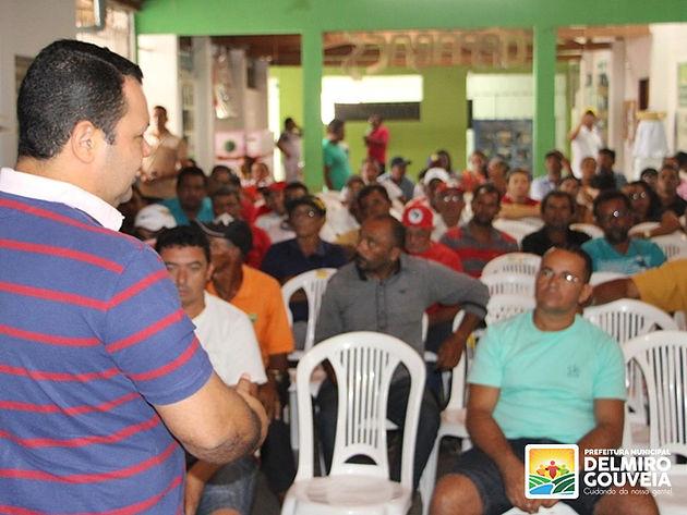Secretaria de Agricultura reúne agagricultores em Delmiro Gouveia  e faz balanço das ações realizadas em 2017