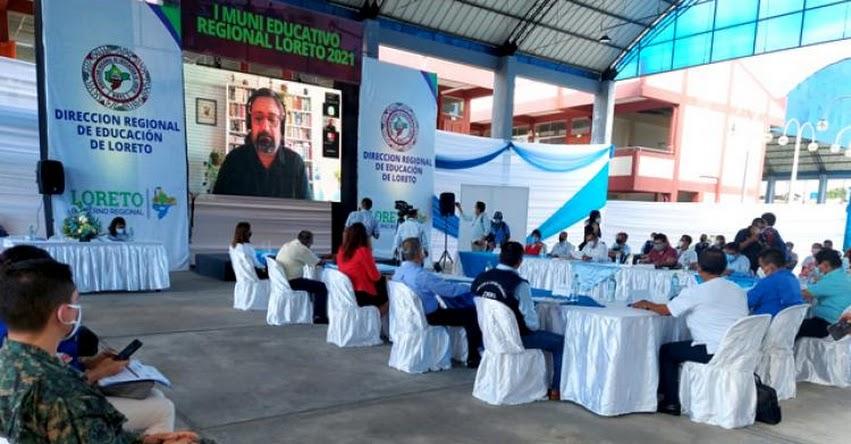 MINEDU: Existe la necesidad de encaminar profundos cambios en la educación, sostuvo el Ministro de Educación, Ricardo Cuenca