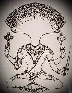 Yoga discoverer Symbolic Image