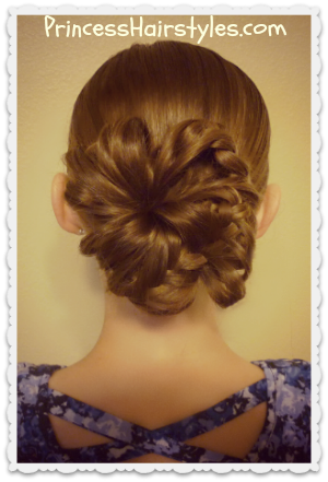 """Bunches Of Braids"" Bun Tutorial"