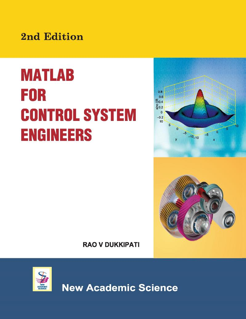 MATLAB for control system engineers, 2nd Edition – Rao V. Dukkipati