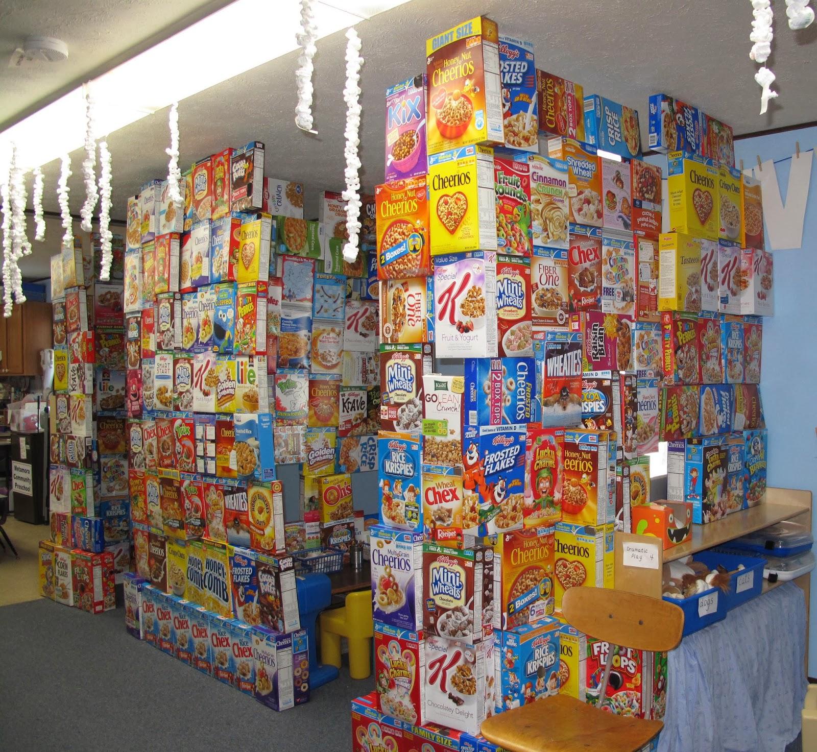 Metamora Community Preschool My Impenetrable Cereal Box