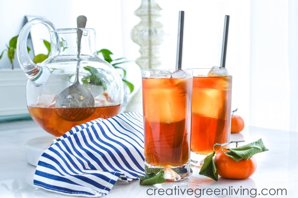 Easy iced tea recipe for making ice tea at home
