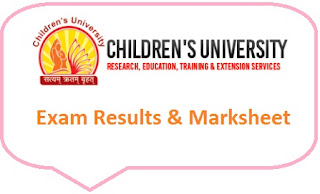 Children University Results 2020
