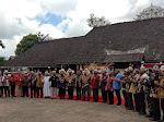 Silahturahmi Masyarakat Adat Dayak & Kampanye Pemakaian Masker di Kelurahan Budaya Pampang