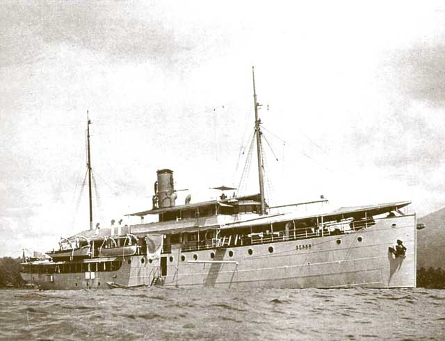 Dutch ship Deneb, sunk on 4 February 1942 worldwartwo.filminspector.com