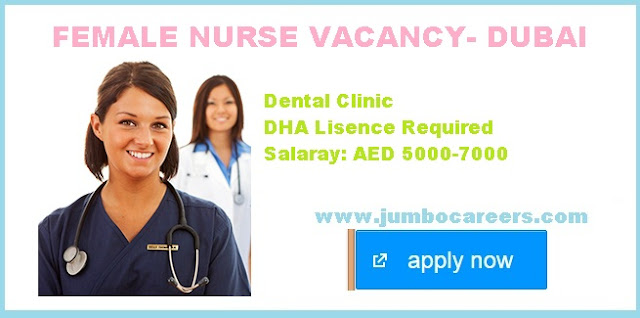 Nuse salary in Dubai