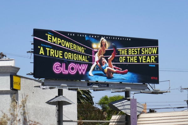 GLOW Emmy FYC 2018 billboard