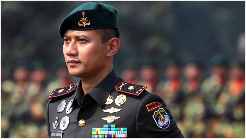 Mayor Infanteri Agus Harimurti Yudhoyono