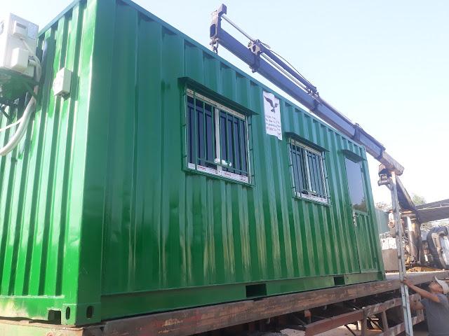 container văn phòng về bình phước