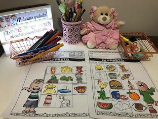 Atividades com o alfabeto para educação infantil
