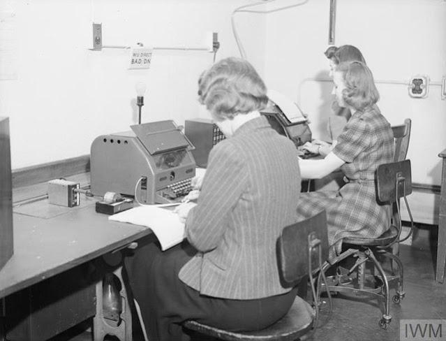 Admiralty teleprinters 22 April 1942 worldwartwo.filminspector.com