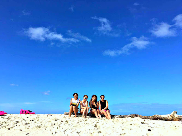 Camiguin white island